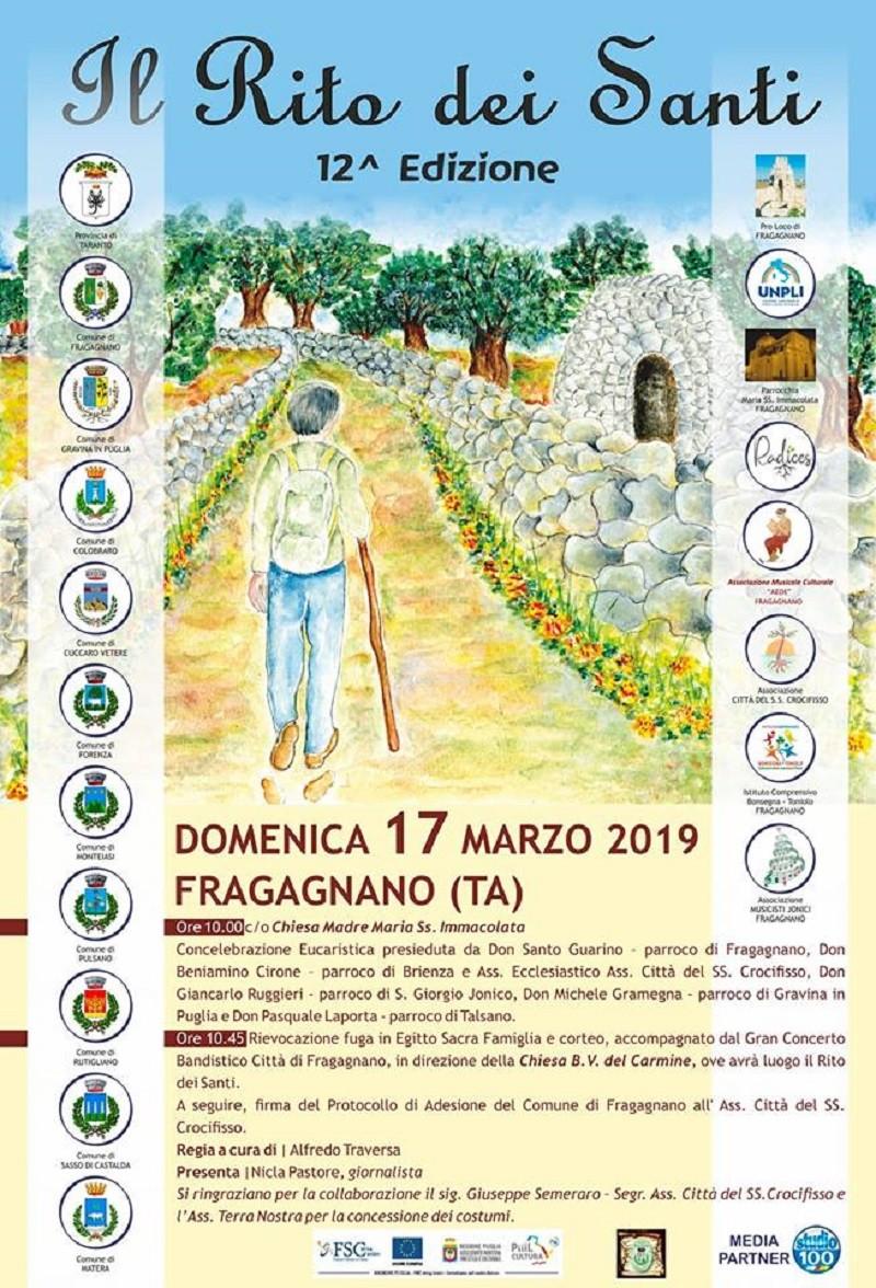 Ritorna il Rito dei Santi a Fragagnano