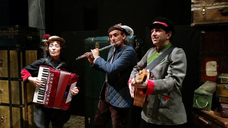 Al TaTà Taranto va in scena lo spettacolo UN TOPO… DUE TOPI… TRE TOPI. Un treno per Hamelin