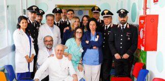 Carabinieri donano uova ospedale pediatrico Gallipoli