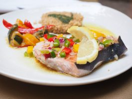 Da Palagiano realizziamo la ricetta pesce spada con verdure