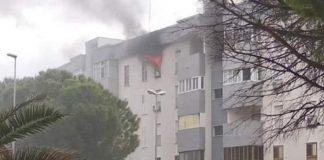 Due vittime nell'incendio in una Palazzina a Taranto