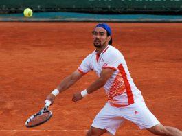Fabio Fognini vincitore al torneo di Montecarlo