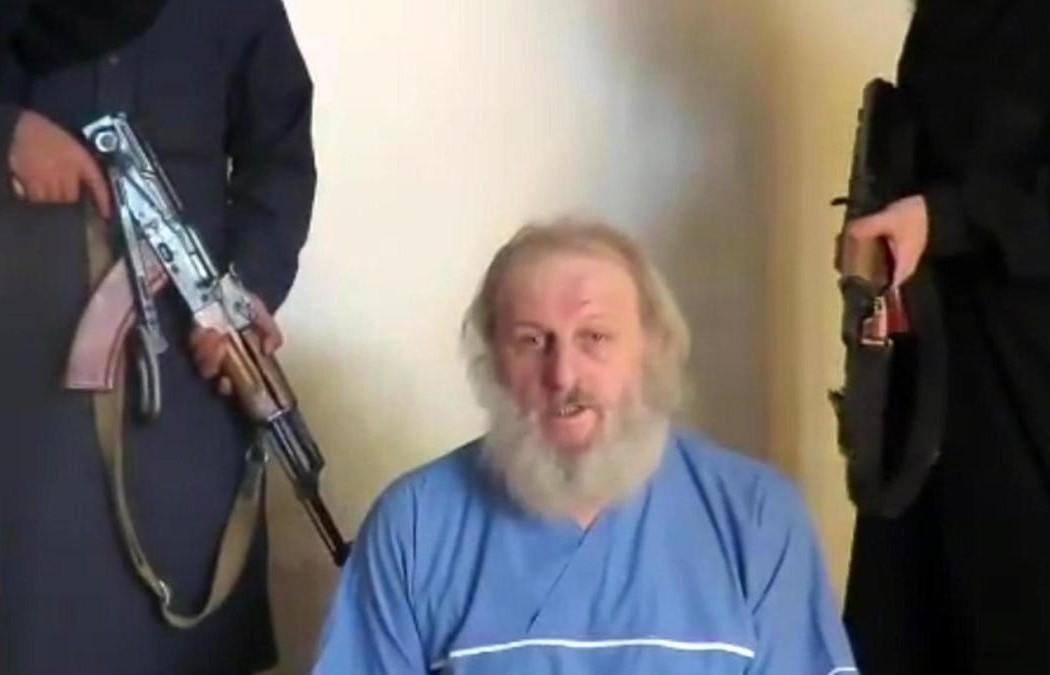 Liberato Sergio Zanotti prigioniero in Siria