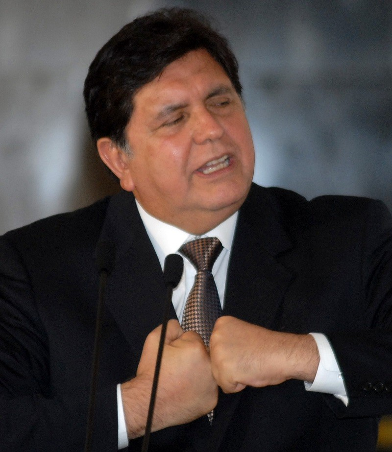 Morto suicida l'ex Presidente del Perù Alan Garcia