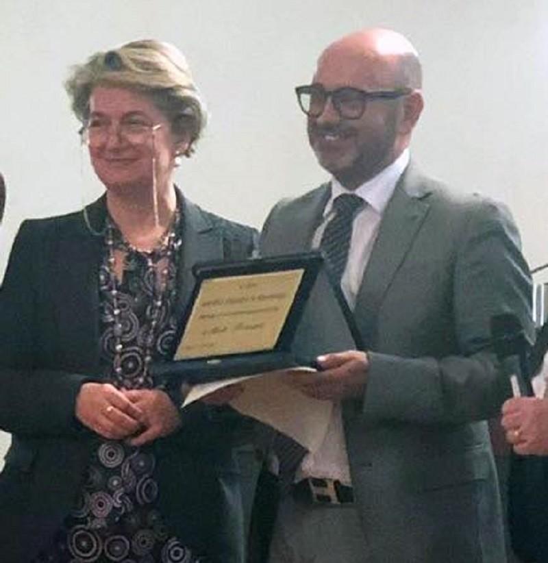 Premio italiano pedagogia a prof Fornasari di Martina Franca