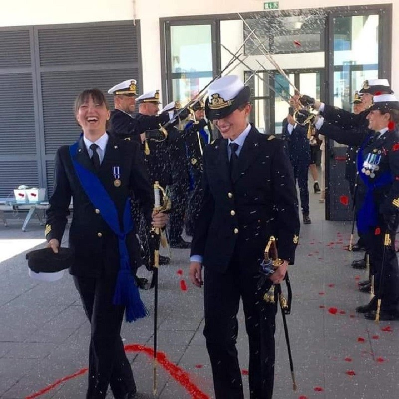 Primo matrimonio civile fra donne nella Marina Militare