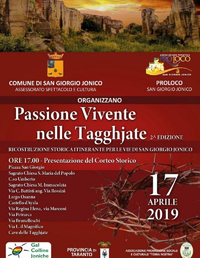 Riparte a San Giorgio Jonico la Passione Vivente itinerante