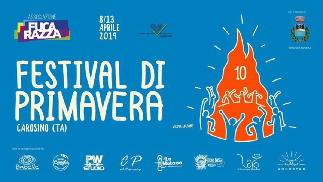 Ritorna la 10a edizione della Festa di Primavera a Carosino