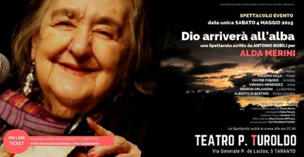 Teatro Padre Turoldo di Taranto omaggio ad Alda Merini