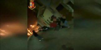 Il video della baby gang di Manduria in azione