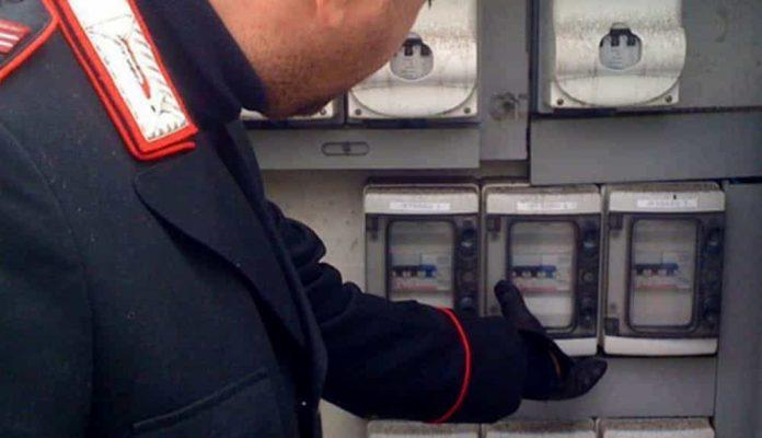 16 persone nei guai per furto di energia elettrica