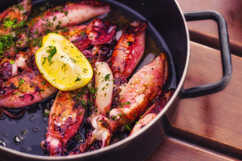 Ricetta calamari ripieni alle olive pugliesi