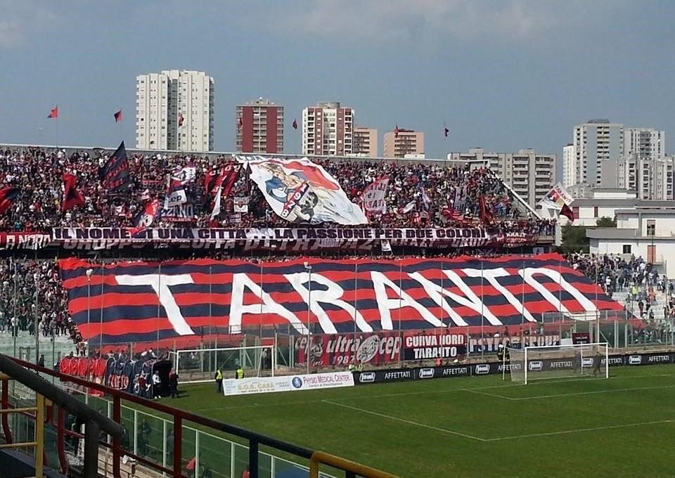 Taranto, la squadra si prepara per affrontare il Pomigliano