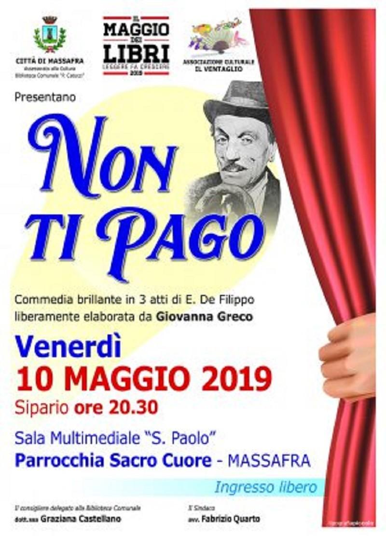 """A Teatro con l'iniziativa """"Il Maggio dei libri"""" a Massafra"""