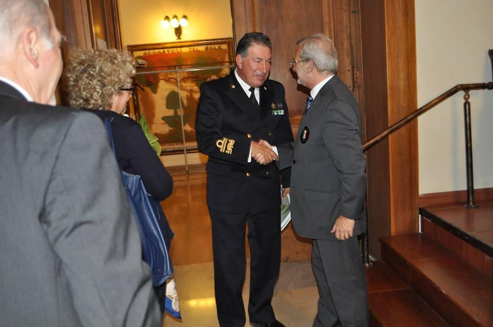 Cittadinanza Onoraria Ammiraglio Vitiello a Taranto