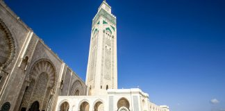 Hammam della moschea Hassan II del Marocco aperti