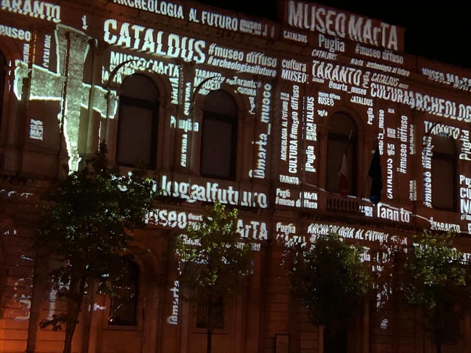 Il MarTa di Taranto si accende in onore di San Cataldo
