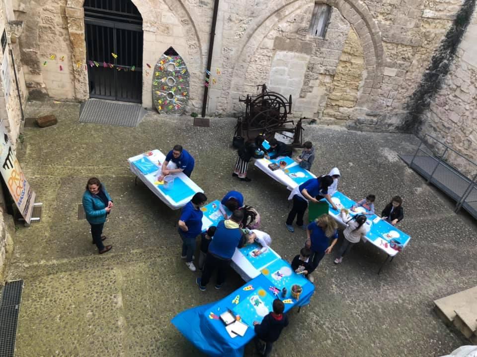 Laboratori per bambini al Castello Medievale di Massafra