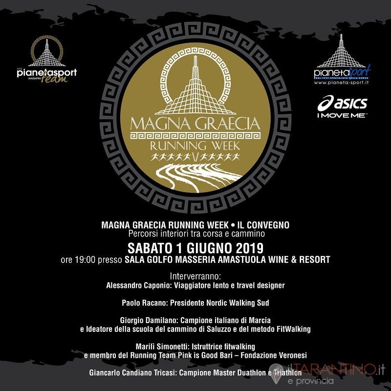 Magna Graecia Running Week ritorna a Massafra
