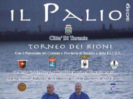 Palio di Taranto stasera con la prima tornata