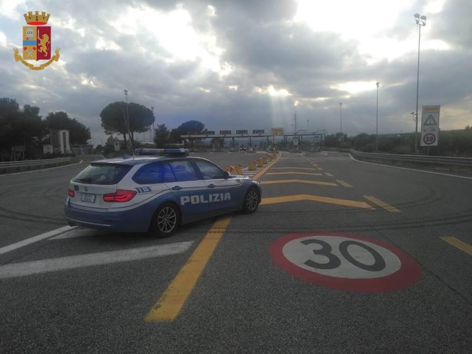 Polizia di Taranto consegna farmaco a tempo di record