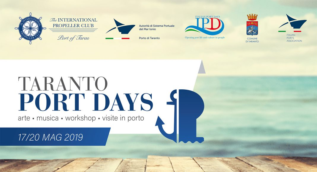 Porto, al via Taranto Port Days 2019
