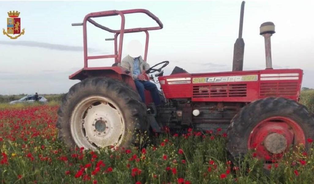 Recuperato trattore rubato in un podere agricolo di Grottaglie