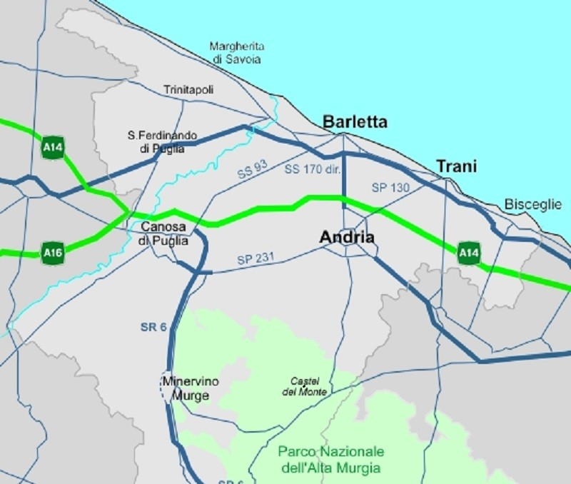 Scossa di terremoto a Trani, Andria e Barletta