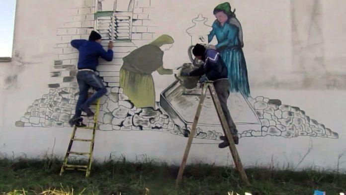Murales di San Marzano: presto uno special sul TG2 Storie
