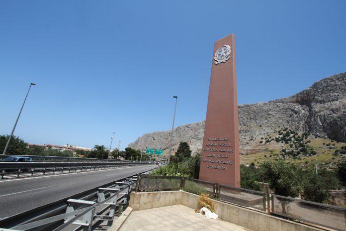 Cerimonia commemorativa nell'aula bunker di Palermo nell'anniversario della strage di Capaci