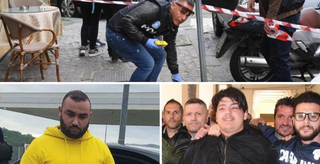 sparatoria napoli arrestati fratelli