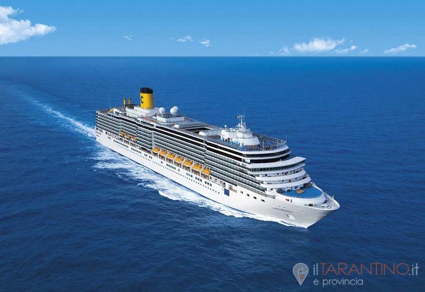 1800 turisti a Taranto con la nave crociera Marella Cruises