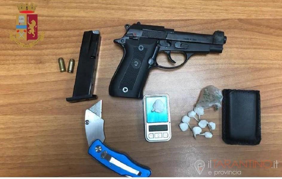 Deteneva arma clandestina. Arrestato 59enne di Taranto