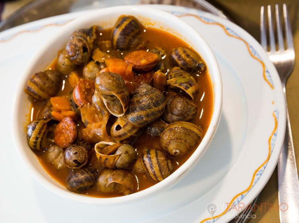 Realizziamo la ricetta zuppa di lumache alla pugliese
