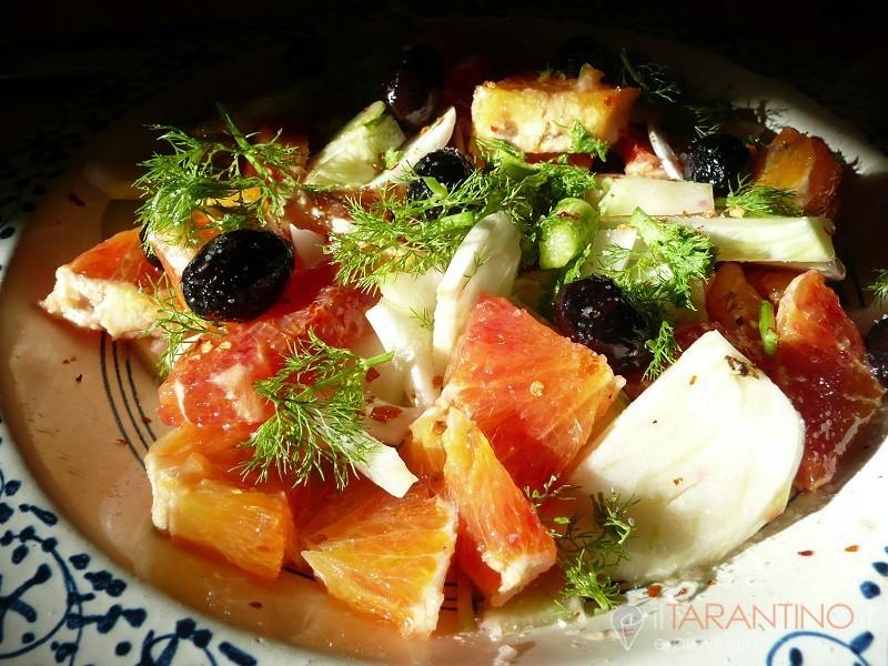 Ricetta insalata di arance e finocchi un'idea fresca
