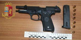 Rinvenute due pistole detenute clandestinamente a Statte