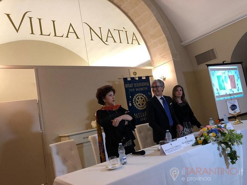 Vera Corbelli parla di ambiente a Massafra