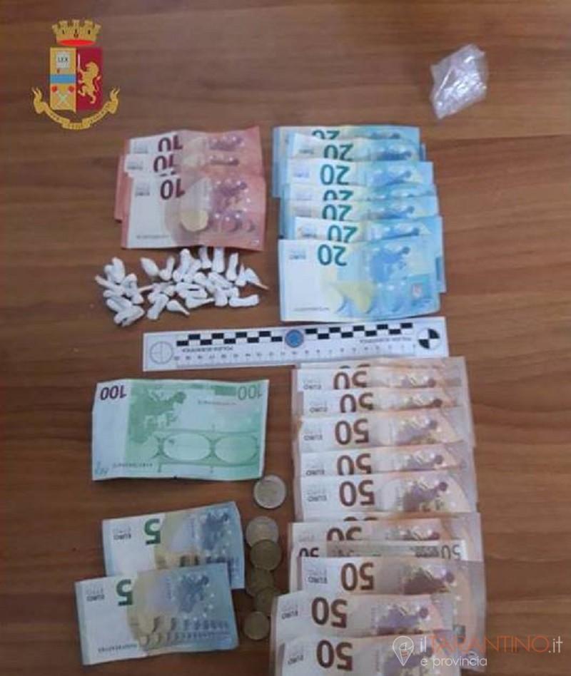 Zio e nipote tratti in arresto a Taranto per attività di spaccio