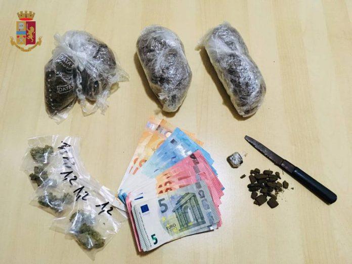 Commissariato di Grottaglie arresta 27enne per spaccio