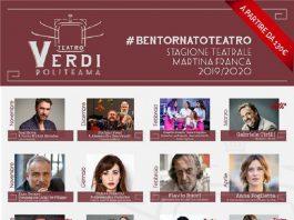 Il Teatro Verdi di Martina Franca propone un cartellone ricco