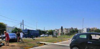 Incidente stradale a Taranto nei pressi del Mon Reve Hotel