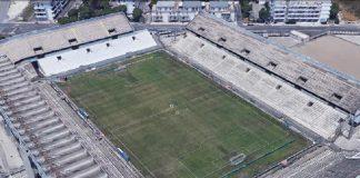 Lo stadio Iacovone di Taranto sta per partire