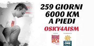 Marcia contro la sclerosi multipla di Marco-Osky Togni