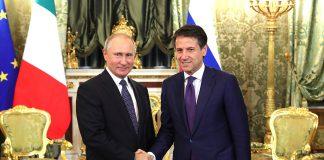 Putin a Roma, incontra il Papa, Mattarella e Conte