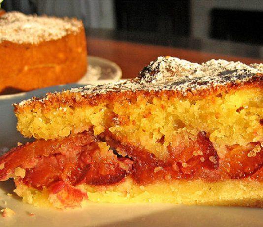 Ricetta crostata di frangipane e prugne un dolce delicato