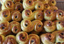Ricetta panini cannella e uvetta dolci e profumati
