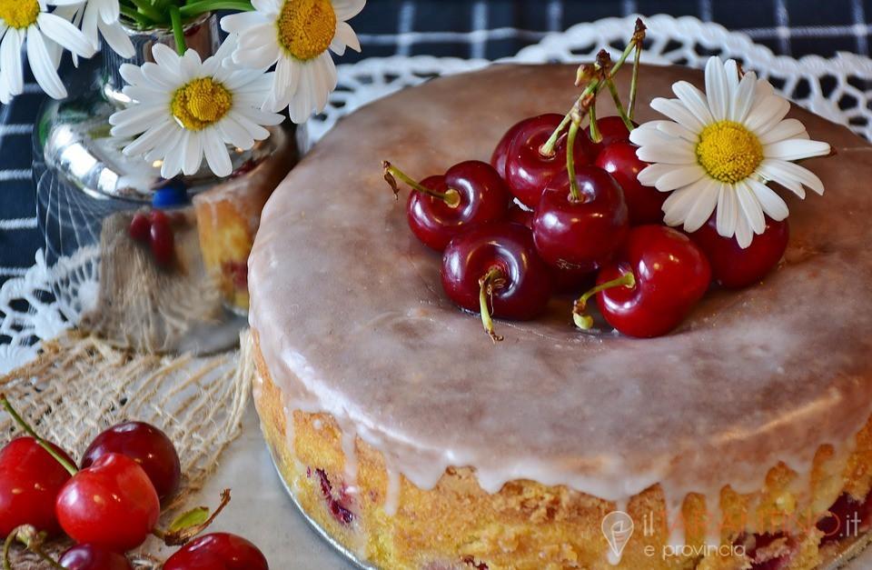 Ricetta torta alle ciliege, ottima per una ricorrenza speciale