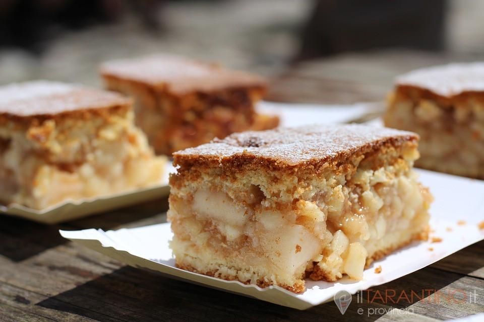 Ricetta torta di mele e frutta secca come si faceva un tempo