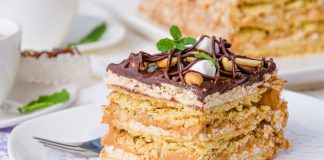 Ricetta torta millefoglie alla crema per tutte le occasioni