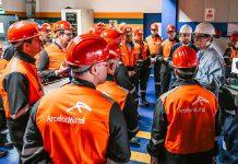Tute con microchip dei dipendenti ArcelorMittal di Taranto